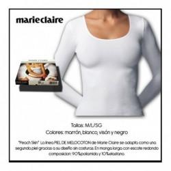 Camiseta 61388 manga larga piel de melocoton , Marie Claire
